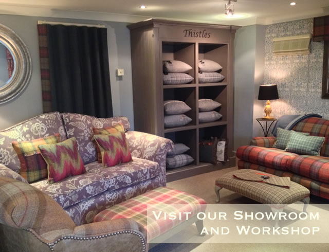 Visit Lawrence furnishings showroom and workshop