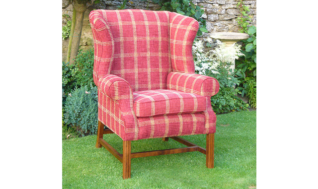 Chair - Georgian Wing Chair - Brackley and Northampton