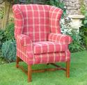 Chair - Georgian Wing Chair - Brackley and Northampton
