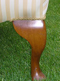 The Louise Button Back Chair - Bespoke furniture made in Brackley