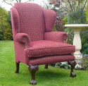 The Windsor Wing Chair - Chairs made in Brackley UK