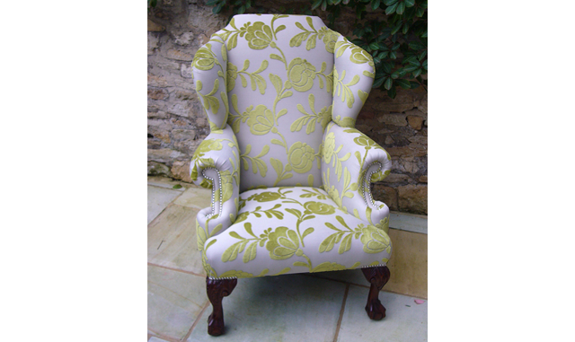 The Windsor Wing Chair - Fixed Seat - Bespoke Furniture UK